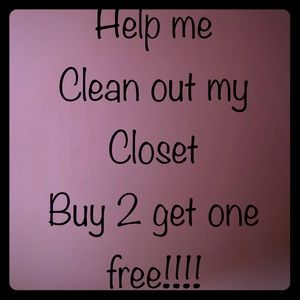 Cleaning out closet!!! Bundle to save even more!!!